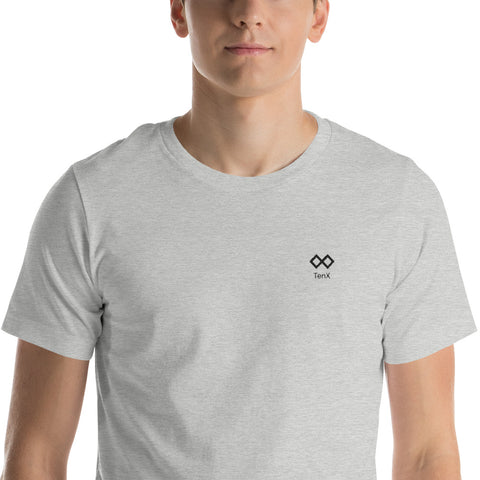Short-Sleeve Unisex T-Shirt Logo Color: Black