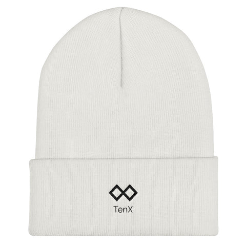 Cuffed Beanie - Logo Color: Black