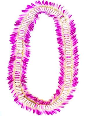 Butterfly Lei (Orchid) - locallei