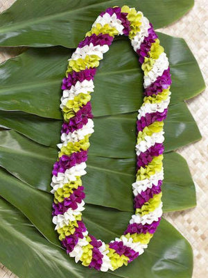 Spiral Lei - Tri color - locallei