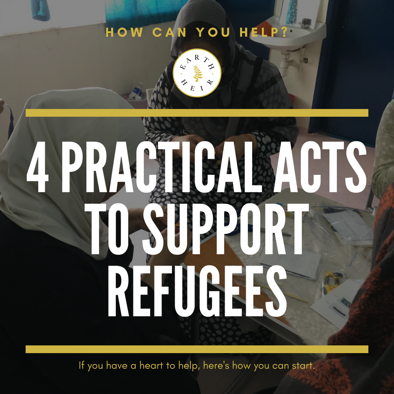 4 Practical Acts to Support Refugees