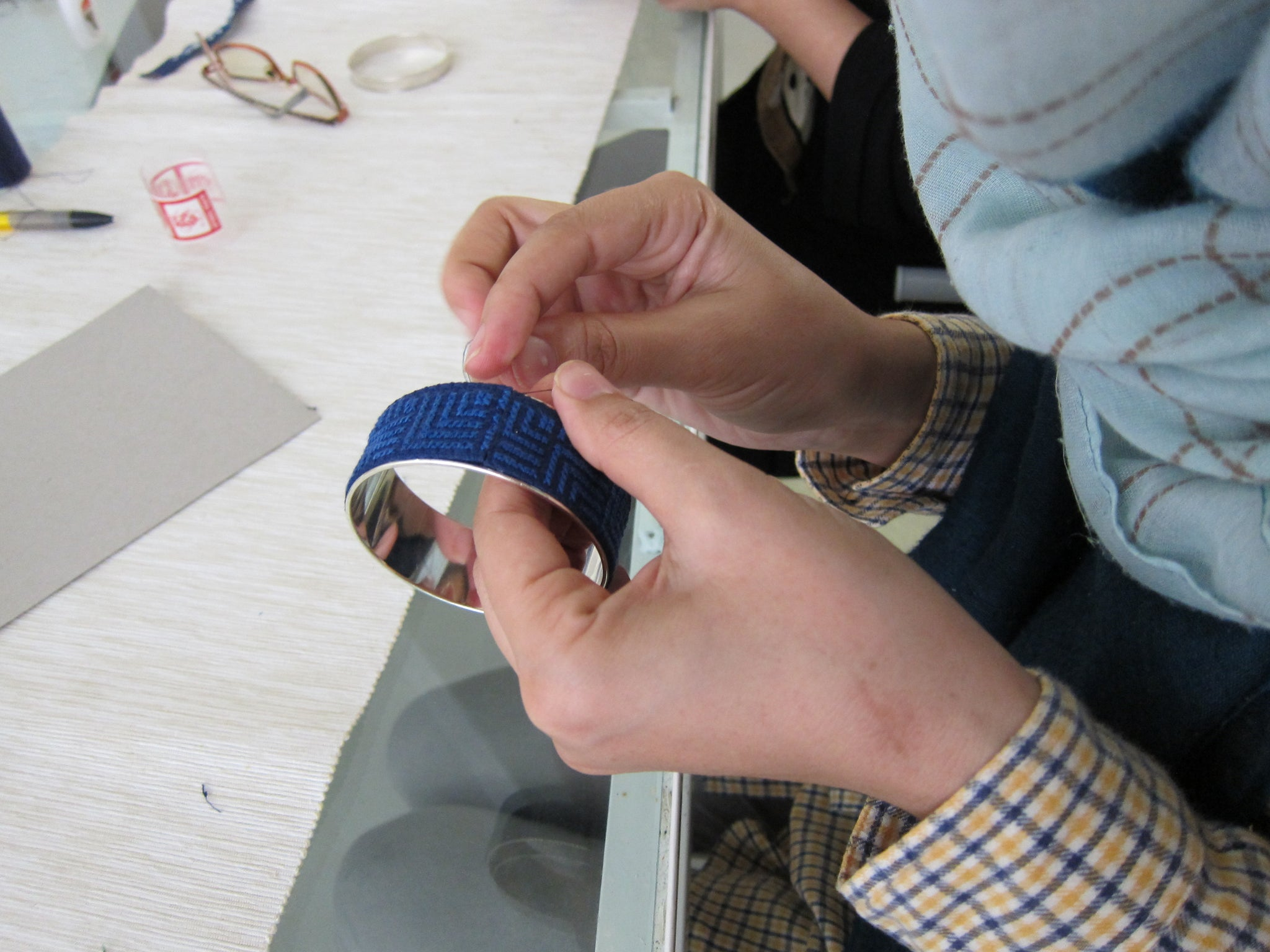 Working with Refugee Artisans