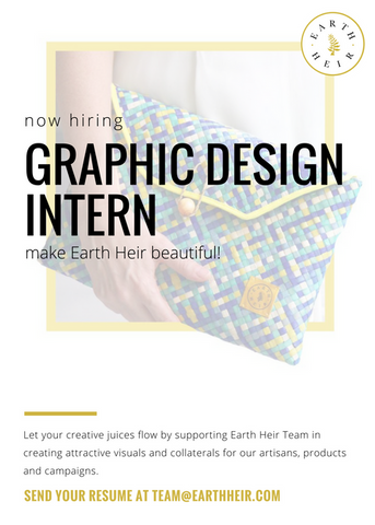 Internship: Graphic Design Intern - Vacancy at Earth Heir