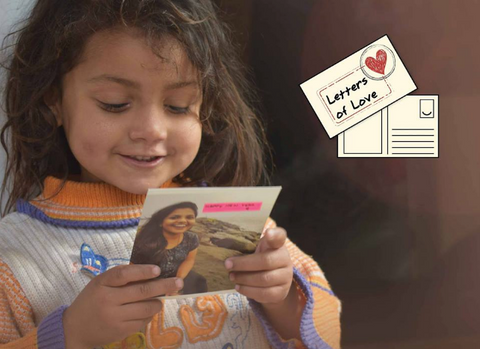 Letters of Love to refugee children