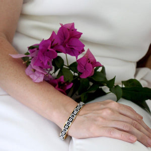 Silver-Plated Nuusum Slim Bangle
