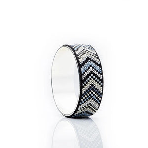Silver-Plated GLOW Nuusum Bold Bangle