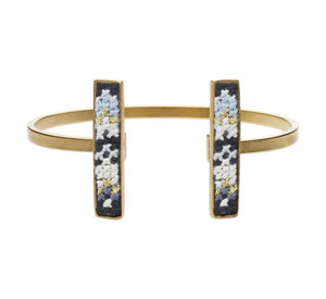 GLOW Nusuum Gold-Plated Cuff