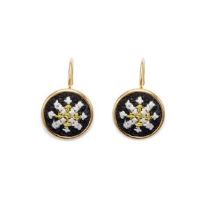 GLOW Arabesque Gold-Plated Dainty Earrings