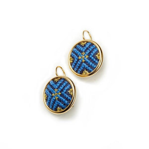 Gold-Plated GLOW Arabesque Statement Earrings