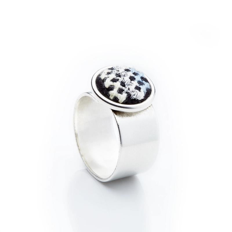 GLOW Nuusum Silver-Plated Ring