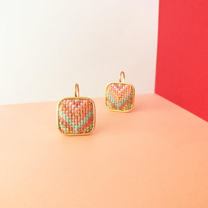 California Dreaming Nuusum Statement Earrings