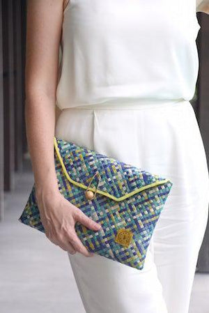 Nina Handwoven Clutch