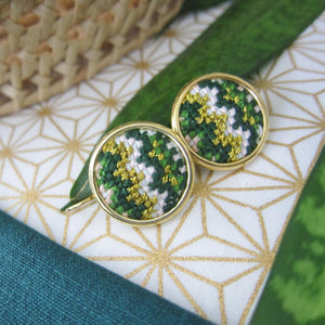 Daun Nuusum Statement Earrings