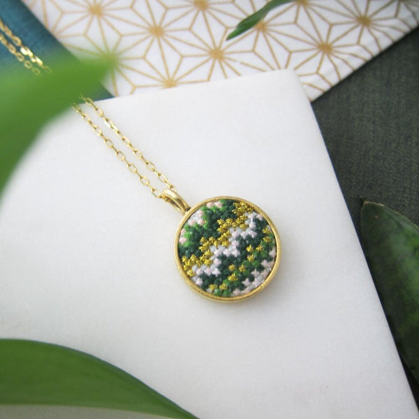 Daun Nuusum Gold-Plated Necklace