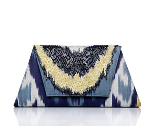 Ikat Luxury Clutch
