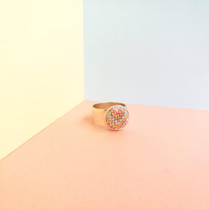 Silver-Plated California Dreaming Ring