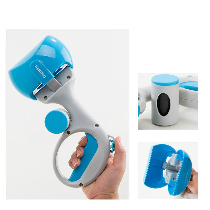 Long Handle Pet Dog Scooper Waste Picker - Naughty Bubbles