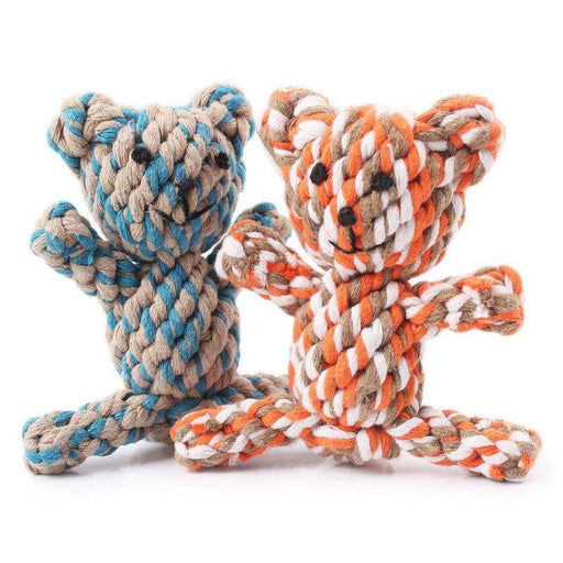Cotton rope bear toys - Naughty Bubbles