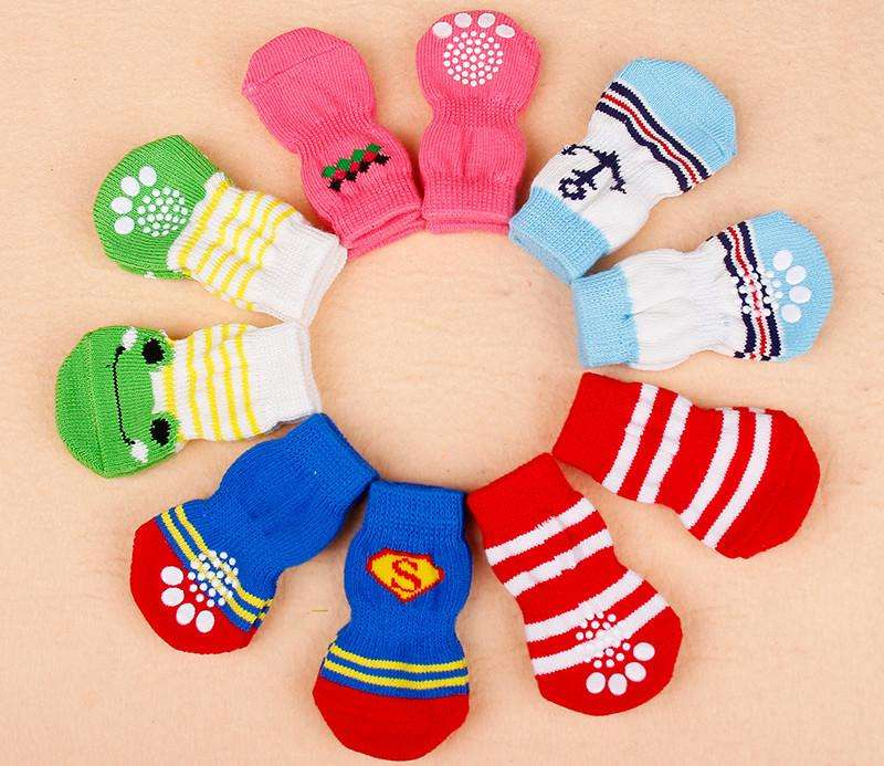 Pet socks 4 pieces - Naughty Bubbles