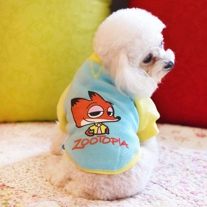 Zootopia Style Pet Dog Apparel Two Legs Clothes - Naughty Bubbles