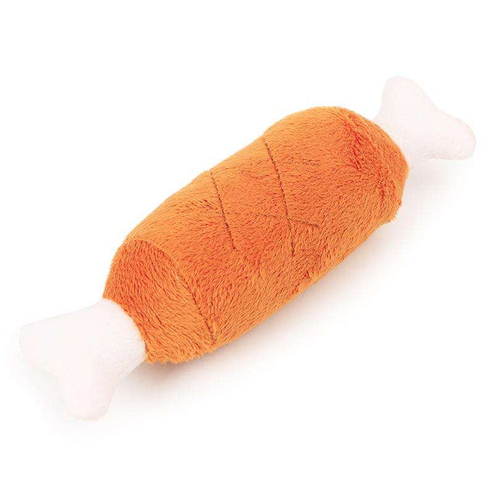 Plush chicken bone squeaker - Naughty Bubbles