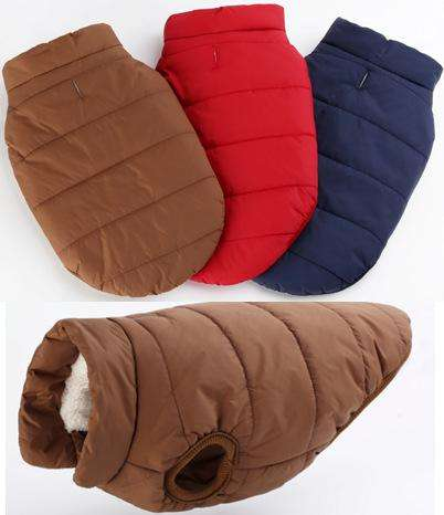 Large Dog Warm Cotton-padded Clothes - Naughty Bubbles