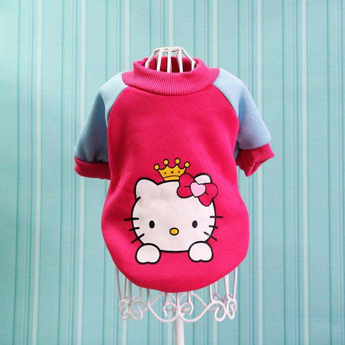 Cartoon style pet sweater - Naughty Bubbles