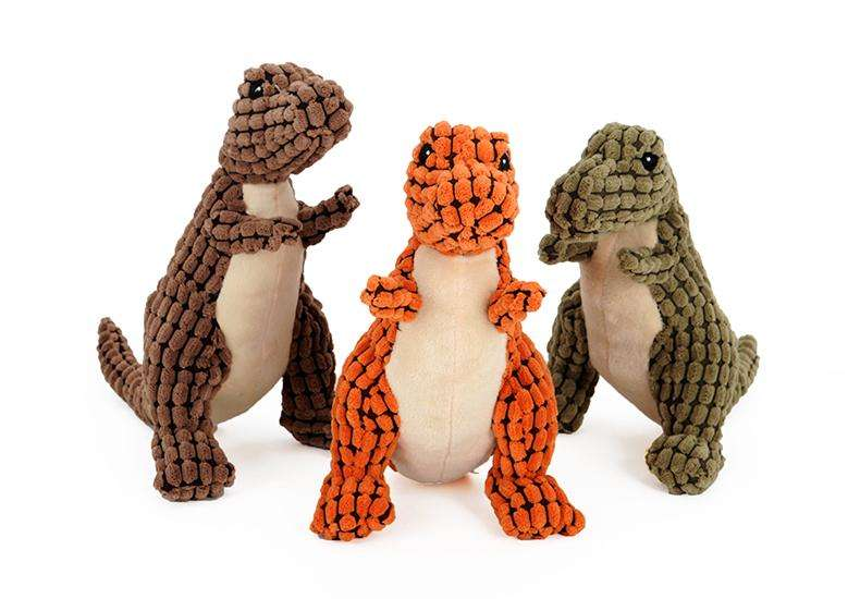 dinosaur pet squeaker toy - Naughty Bubbles