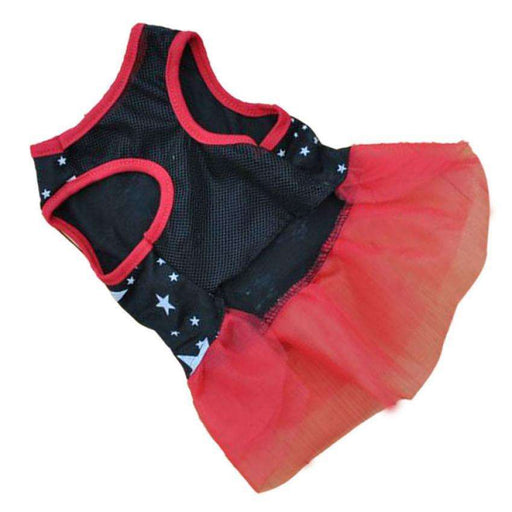 Shining Star Lace Party Small Dog Skirt - Naughty Bubbles