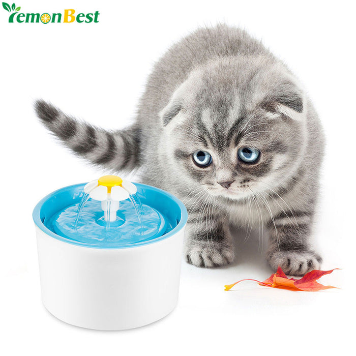 Automatic Pet Water Drinking Fountain For Cat Dog EU PLUG - Naughty Bubbles