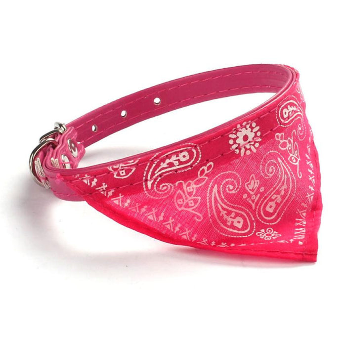 Small dog Puppy Cat Adjustable Collars Scarf Neckerchief - Naughty Bubbles