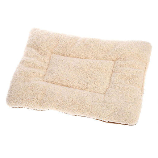 Soft Washable Dog Mat Reversible Fleece Cushion - Naughty Bubbles