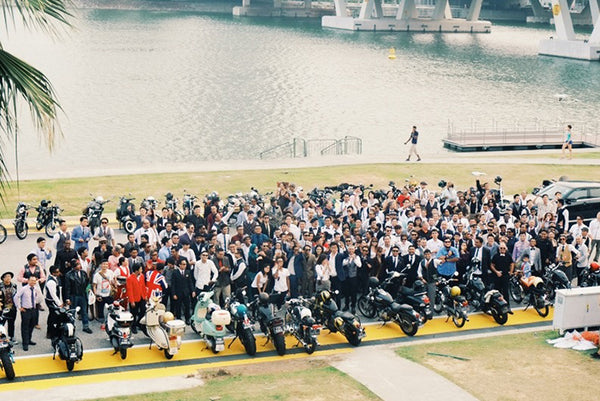 The Distinguished Gentleman's Ride 2014, Singapore