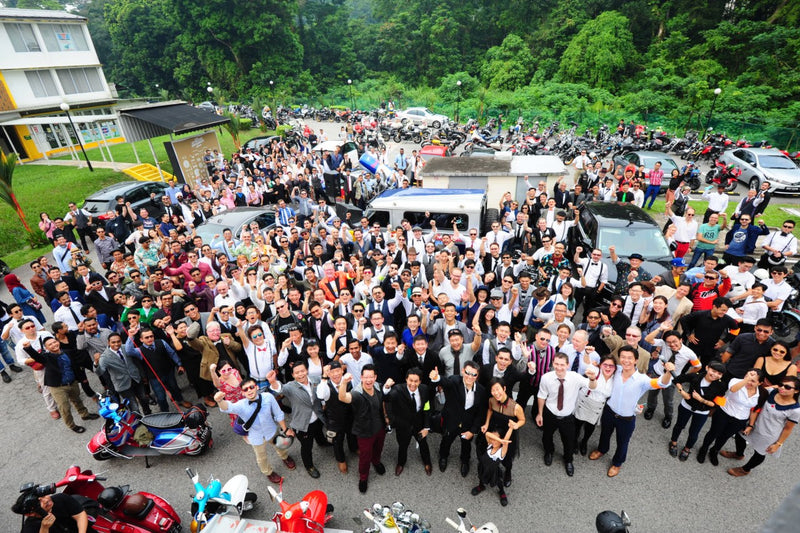 The Distinguished Gentleman's Ride 2015, Singapore