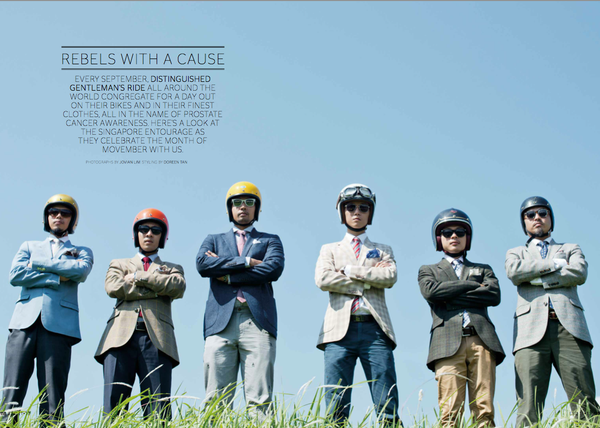 DGR 2013 Feature: Esquire Singapore, Nov 2013