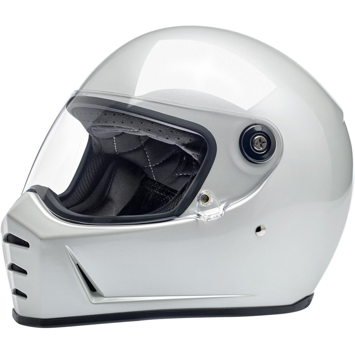 Biltwell Lane Splitter Helmet Metallic Pearl White