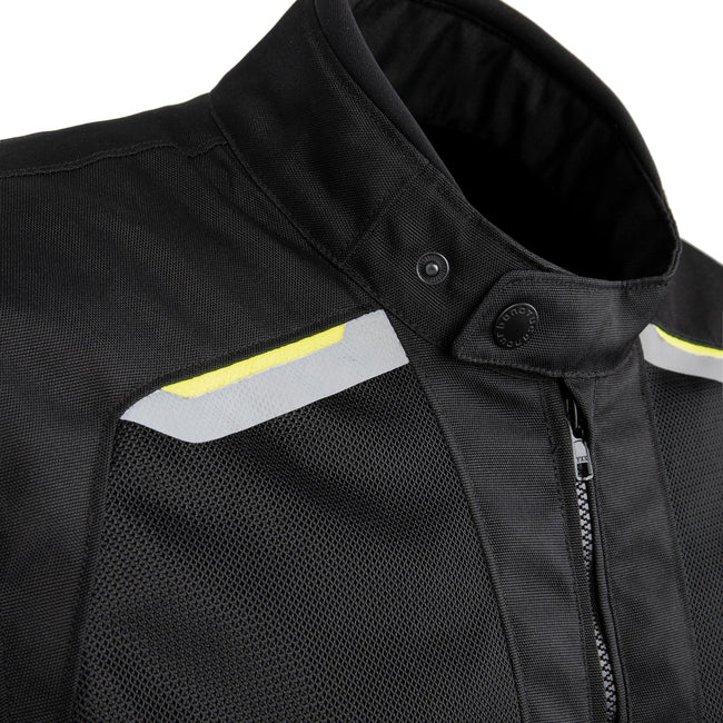 Tucano Urbano Jacket Network 2G Men Black/Fluorescent/Yellow