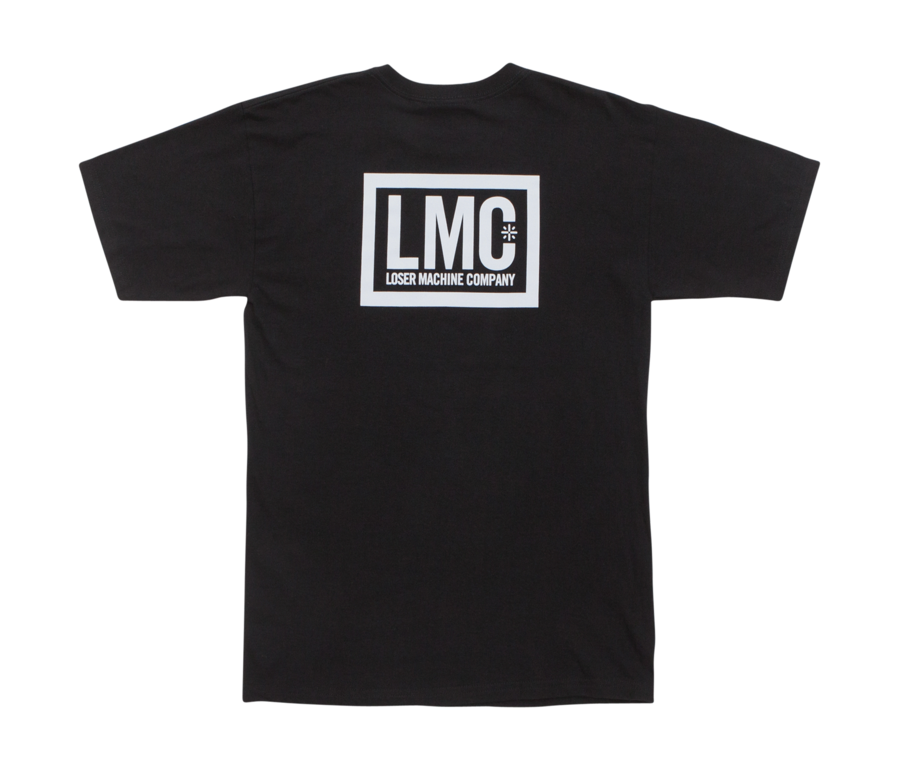 Loser Machine Hardline SS T-Shirt Black