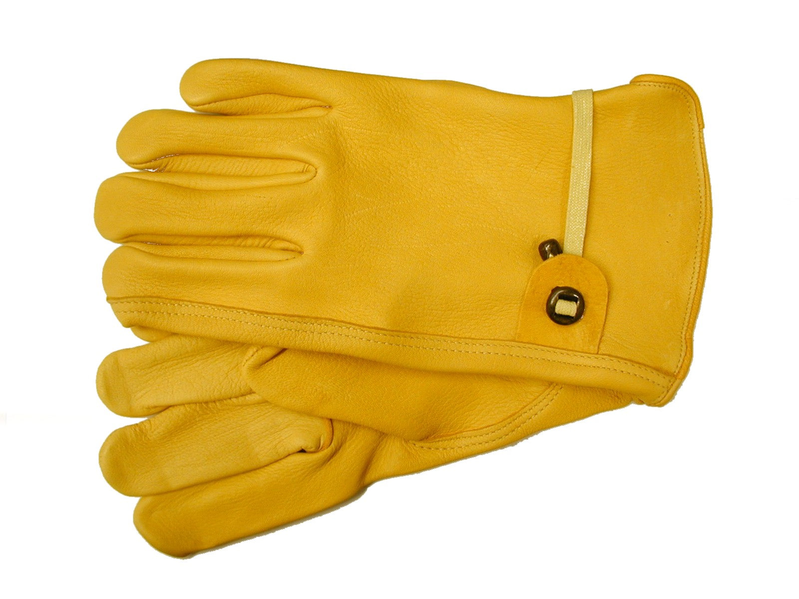 Tuff Mate Premium Grain Deerskin Gloves 1500PS Yellow