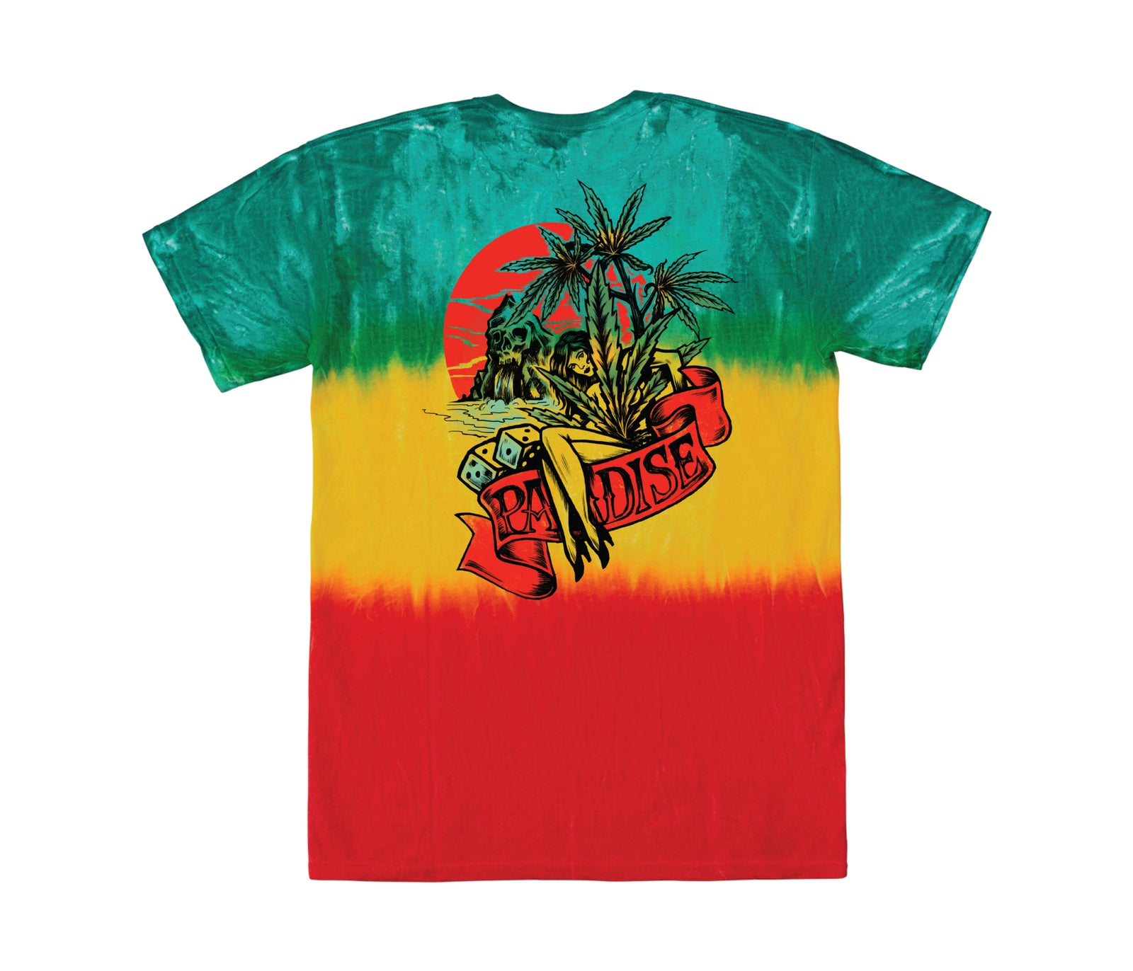 Loser Machine Irie T-Shirt Montego Bay Tie Dye