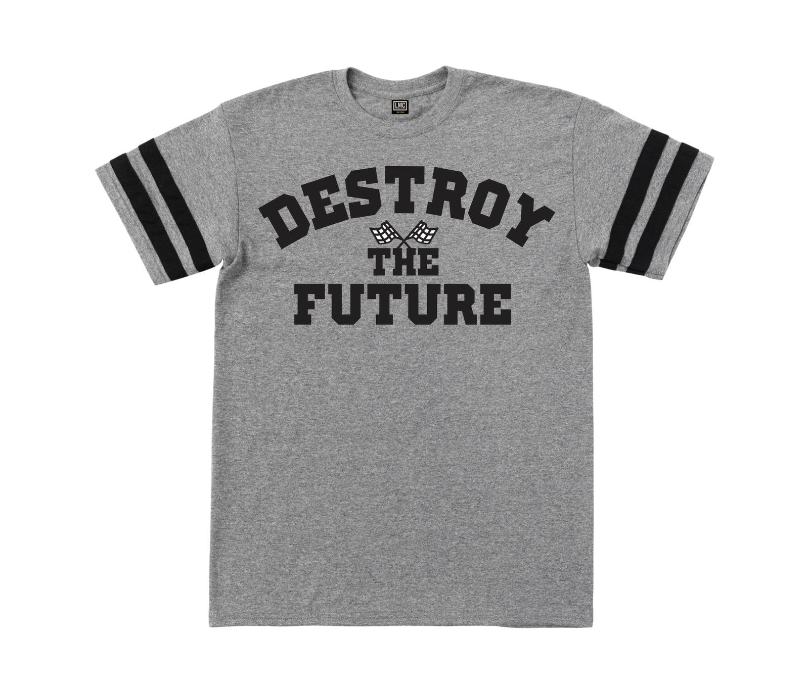 Loser Machine Starting Line Jersey Graphite Heather Black