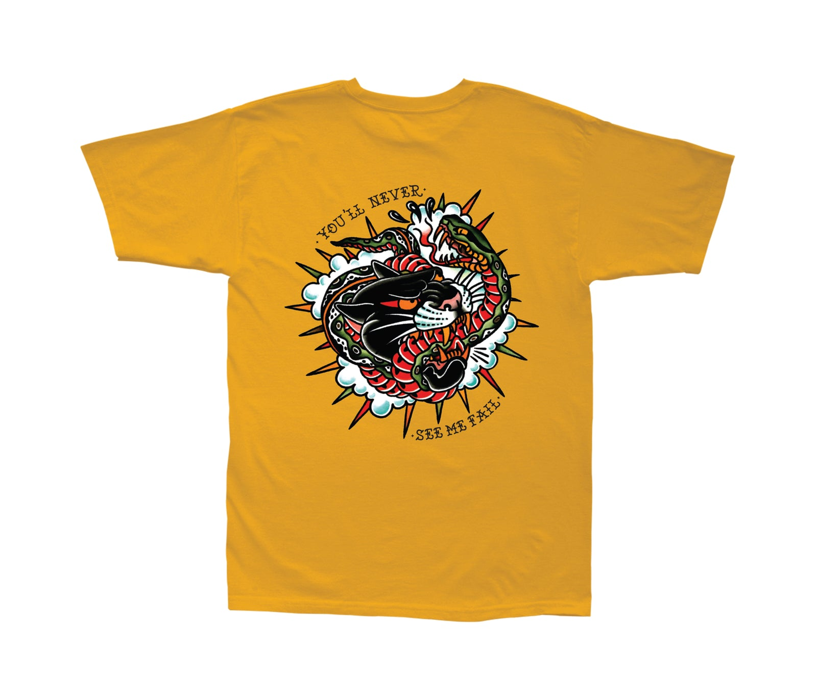 Loser Machine Never Fail T-Shirt Gold