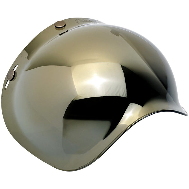 Biltwell Bubble Shield Anti-Fog Gold Mirror