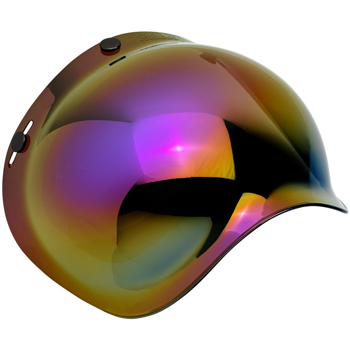 Biltwell Bubble Shield Anti-Fog Rainbow Mirror