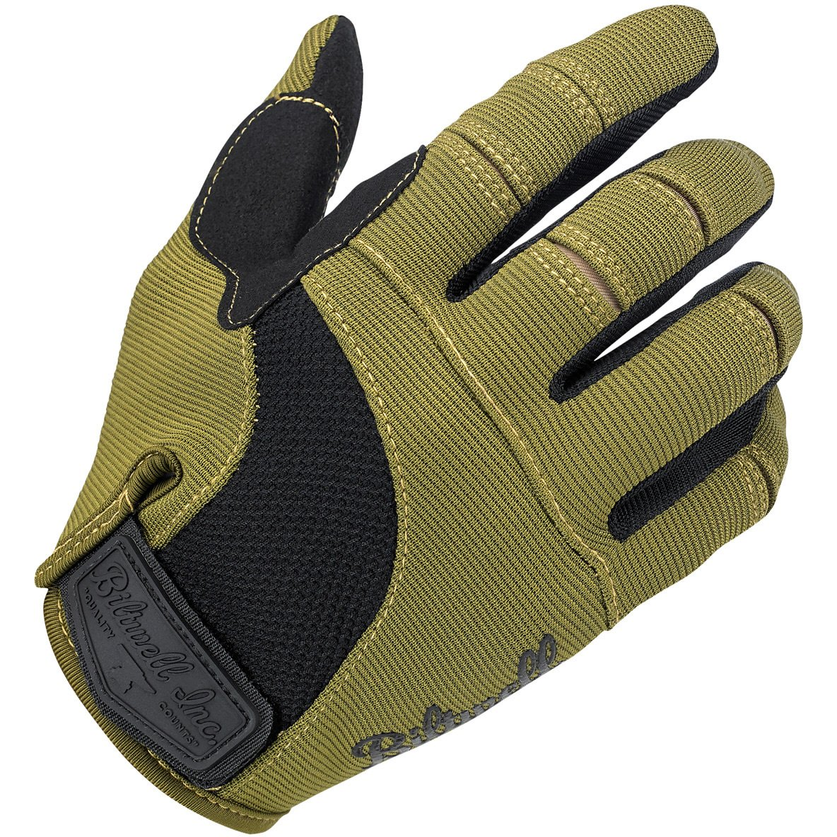 Biltwell Moto Gloves Olive Black