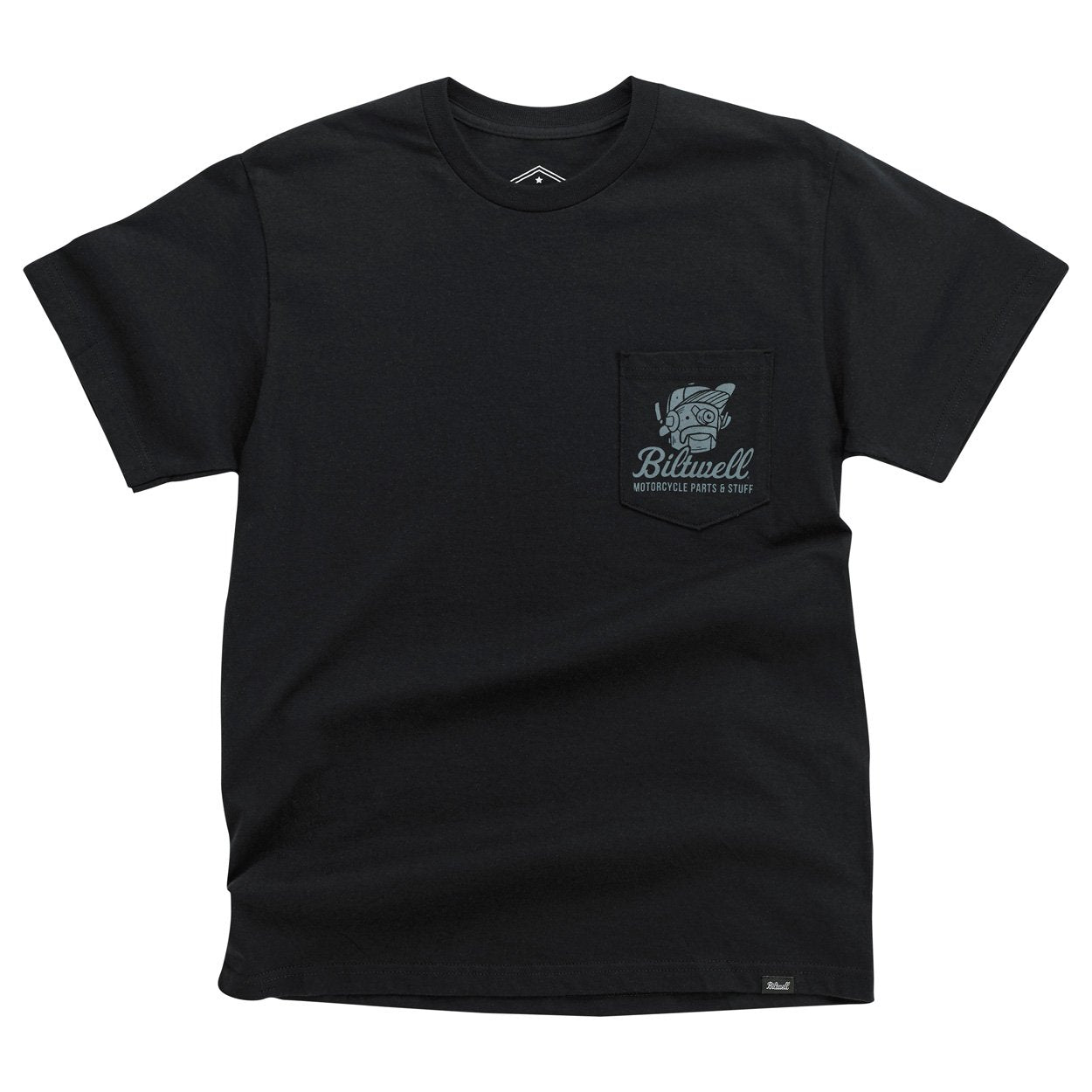 Biltwell Rouserbot Pocket T-Shirt Black