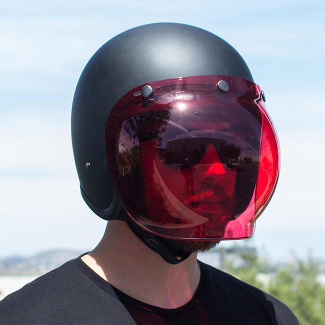 Biltwell Bubble Shield Anti-Fog Rose