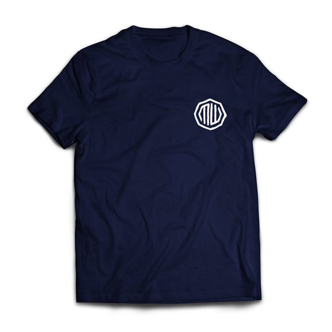 Motorwerks Address Tee Navy Blue