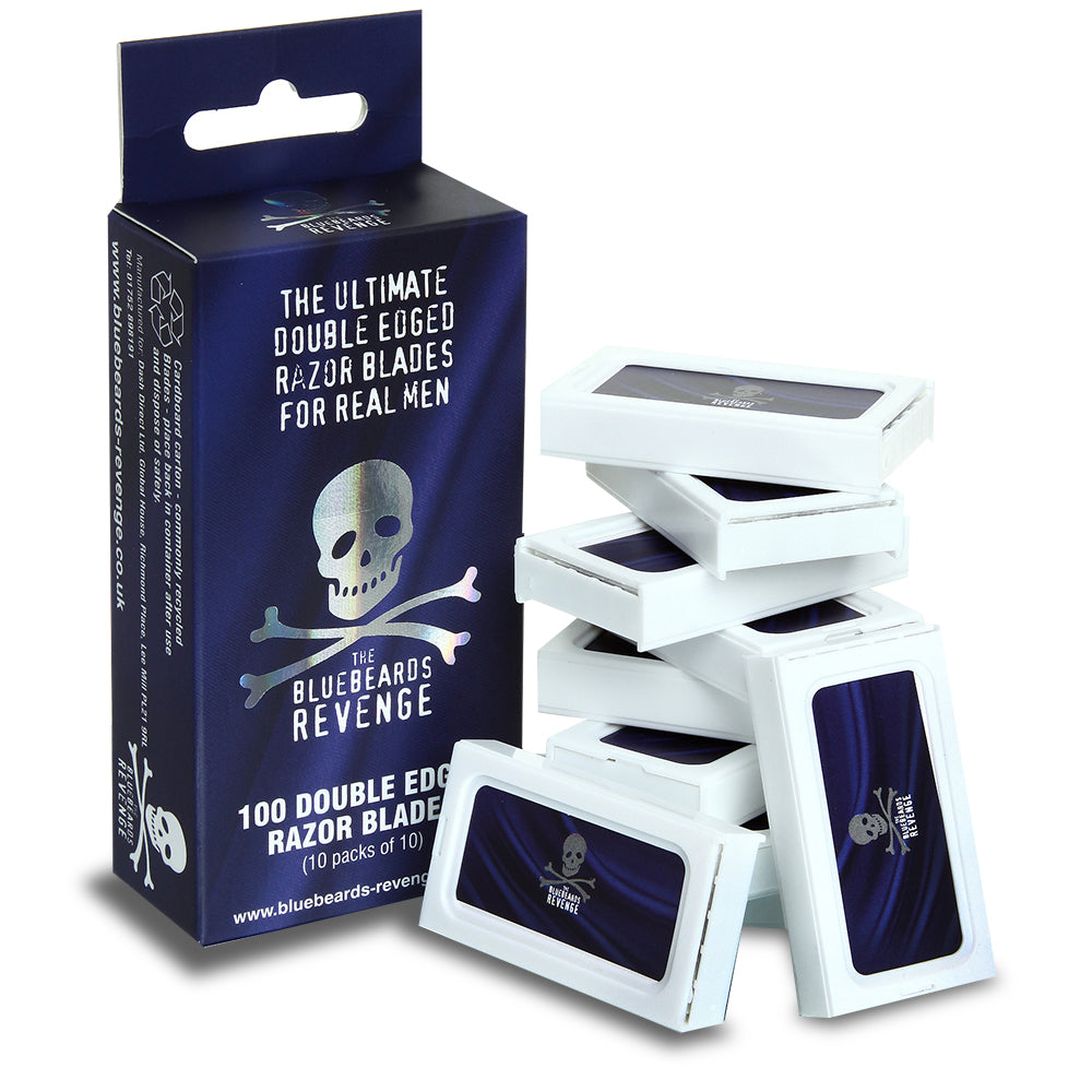 Bluebeards Revenge The 100 Double Edge Razor Blades