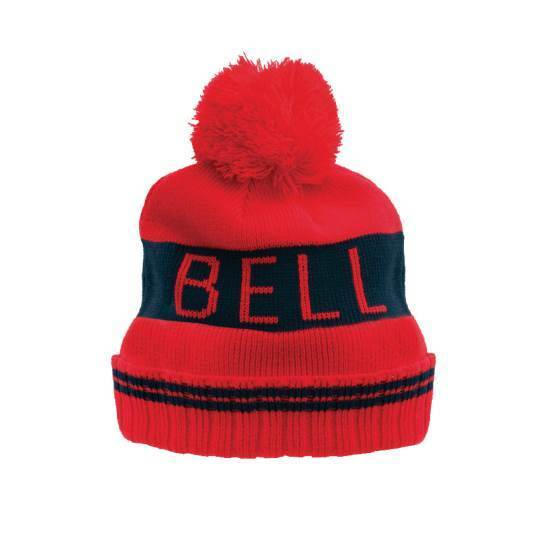 Bell Beanie Red Black